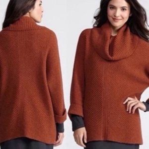 Eileen Fisher Oversized Cowl Neck Sweater Small